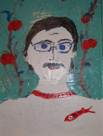 Нина Горланова. Портрет мужа (Вячеслав Букур)