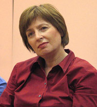 Ирина Служевская. Фото Дмитрия Кузьмина (www.vavilon.ru)